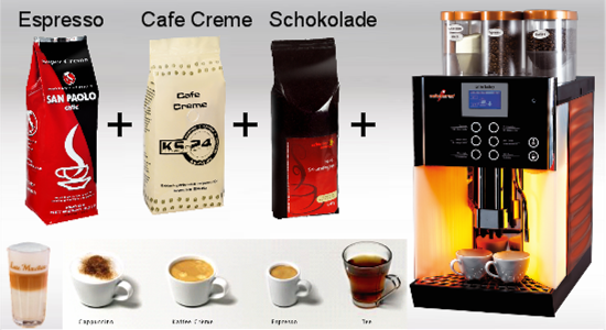 Kaffeeservice frs Bro